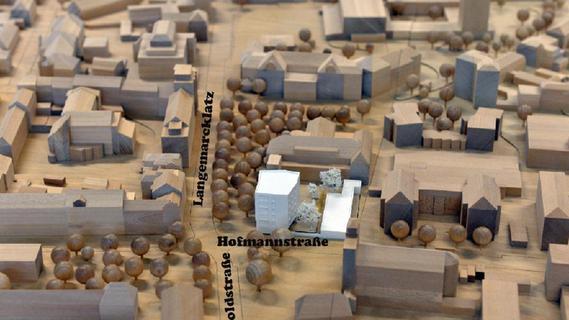 Langemarckplatz in Erlangen wird bebaut - Nordbayern.de