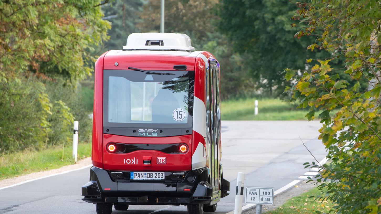 In Bad Birnbach im Landkreis Rottal-Inn testet die Deutsche Bahn den Einsatz autonomer Kleinbusse bereits seit 2017. Nun startete auchein entsprechendes Modellprojekt in Oberfranken.