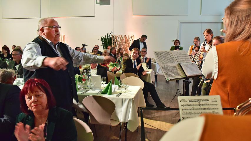 Franz Streit lässt sich zum 70. Geburtstag feiern