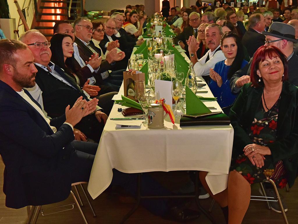 ..70.igester Geburtstag von ..Bürgermeister Franz Streit ..Eventhalle der Volksbank....Fotograf: Jürgen Petoldt....Bankdaten: FlessaBank Fürth..Iban: DE95793301110000411227