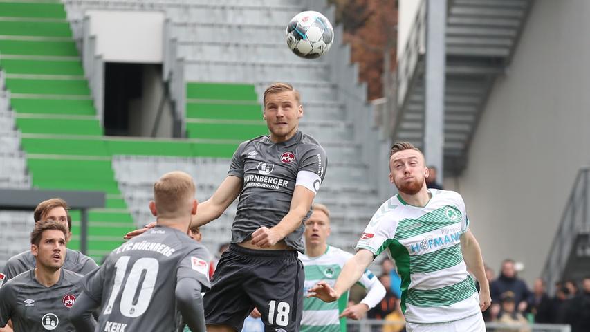 Vier Fünfer und Dornebusch: Der FCN in der Derby-Einzelkritik
