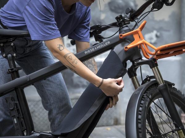 Schutz für integrierte E-Bike-Akkus: Hüllen wie das