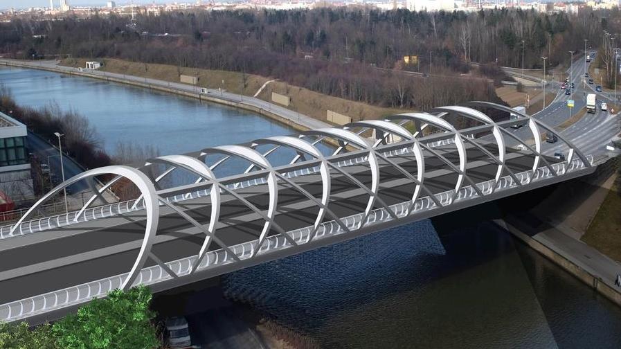 So soll eine der Brücken aussehen, wenn sie fertig saniert ist.
