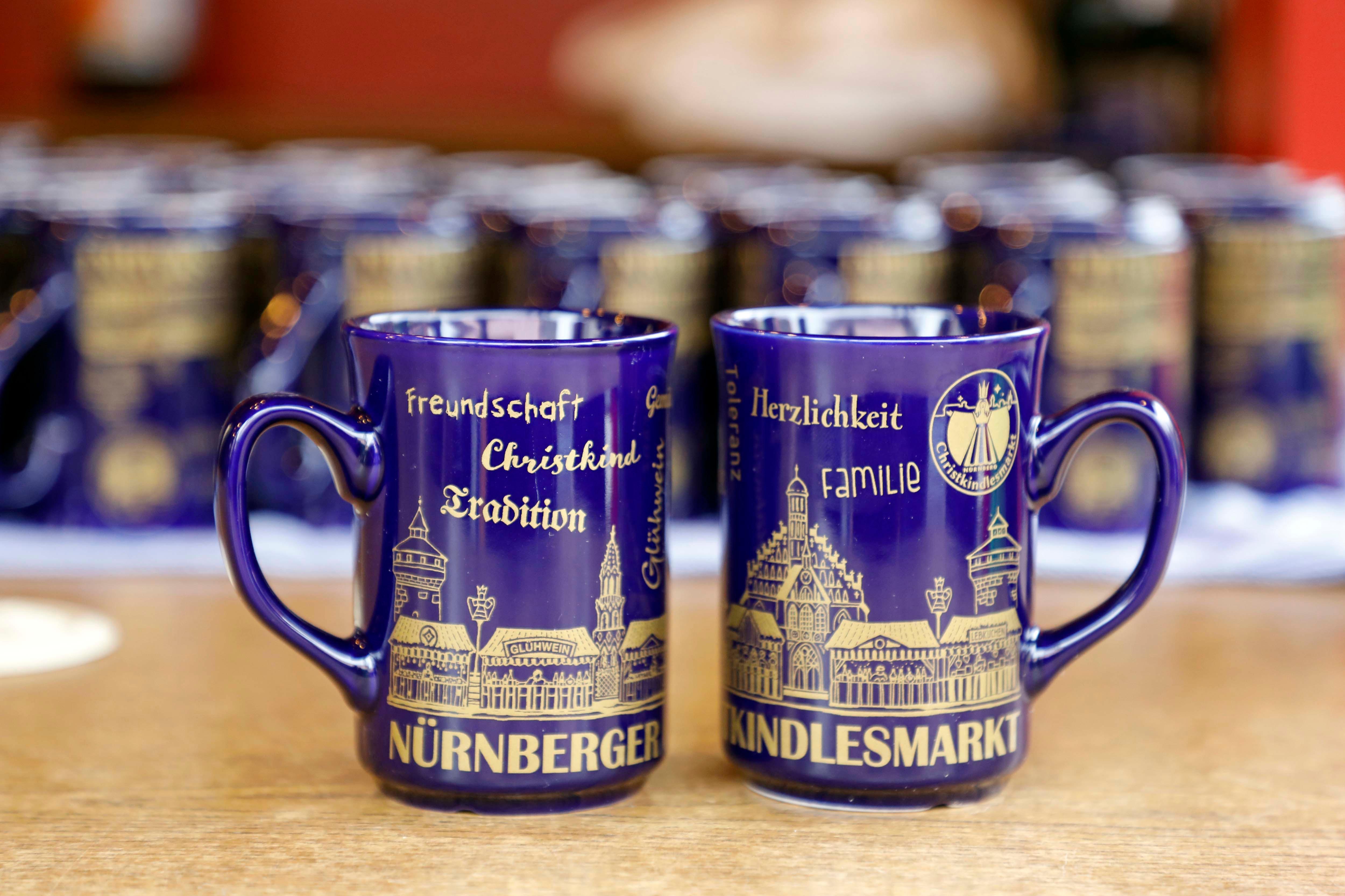 "1 FC Nürnberg Kaffeebecher /""Panorama/"""