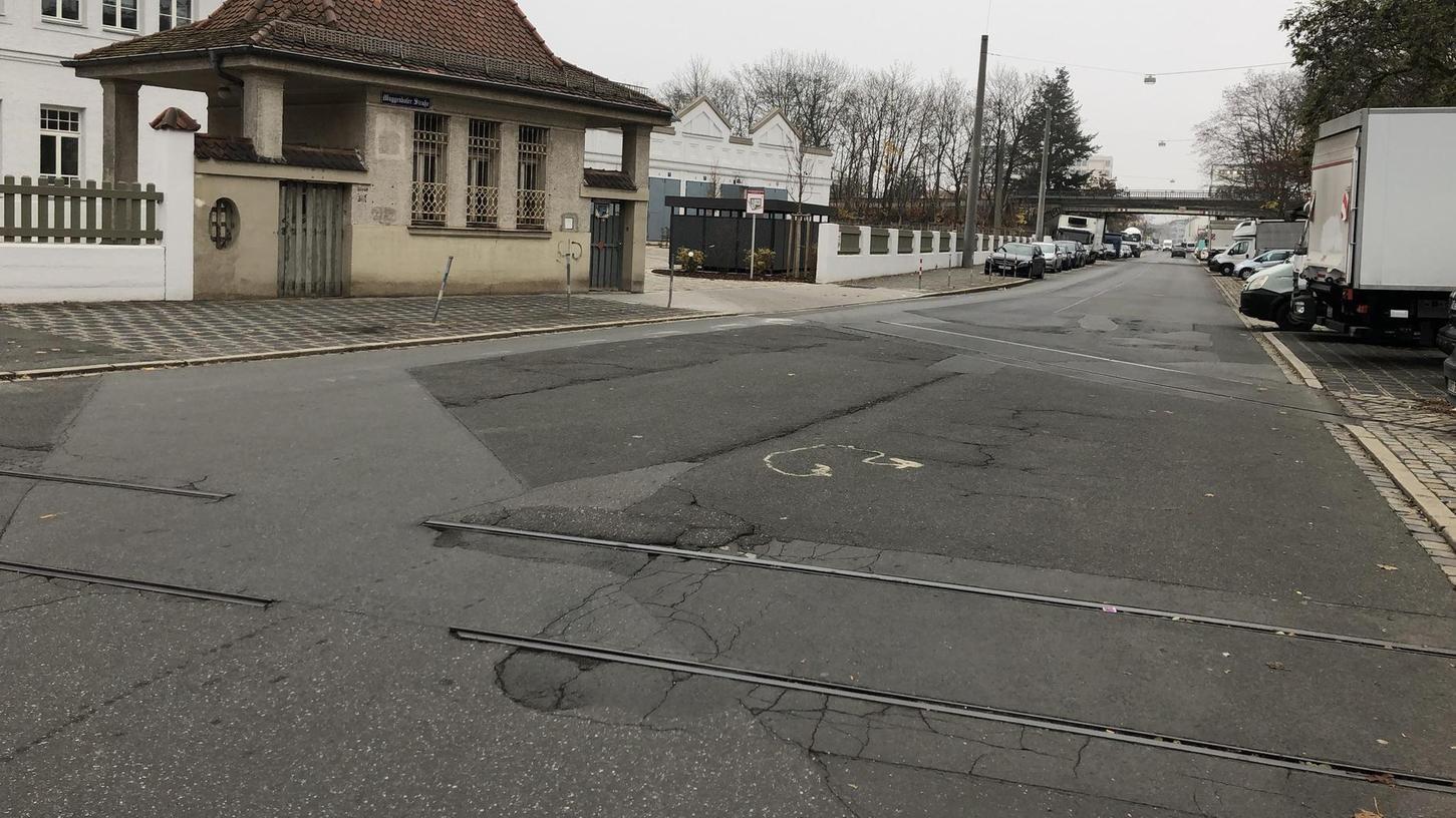 In der Muggenhofer Straße sollte der Umbau für die Fahrradstraße planmäßig im November beginnen, doch jetzt steht fest: Das Projekt kommt erst im Frühjahr 2020.
