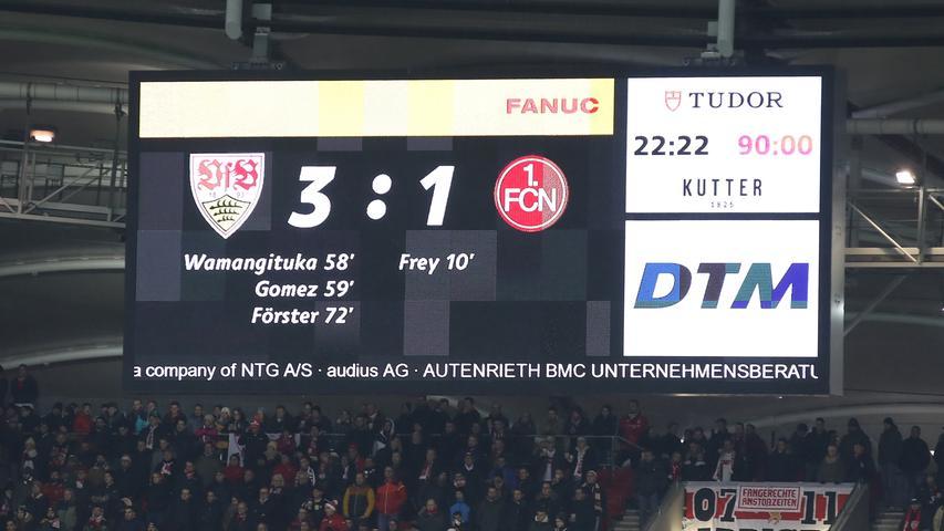 Der Club versinkt nun bis auf weiteres im Tabellenkeller der zweiten Bundesliga. In dieser Form ist der Abstieg für den 1. FC Nürnberg ein realistisches Szenario. Am Valznerweiher brennt der (Weihnachts-) Baum.