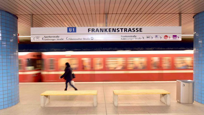48 Stationen: Die Ein-und Aussteiger an den U-Bahnhöfen in Nürnberg und Fürth