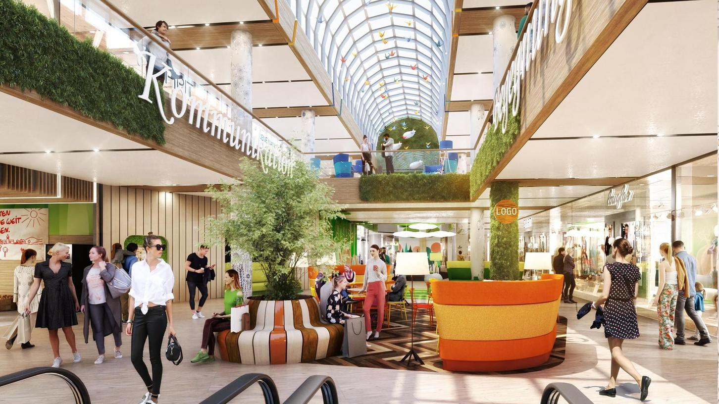 Blick ins neue Flair: So soll sich das ehemalige City-Center nach dem Umbau präsentieren. Die Eröffnung ist für Ende 2021 geplant.