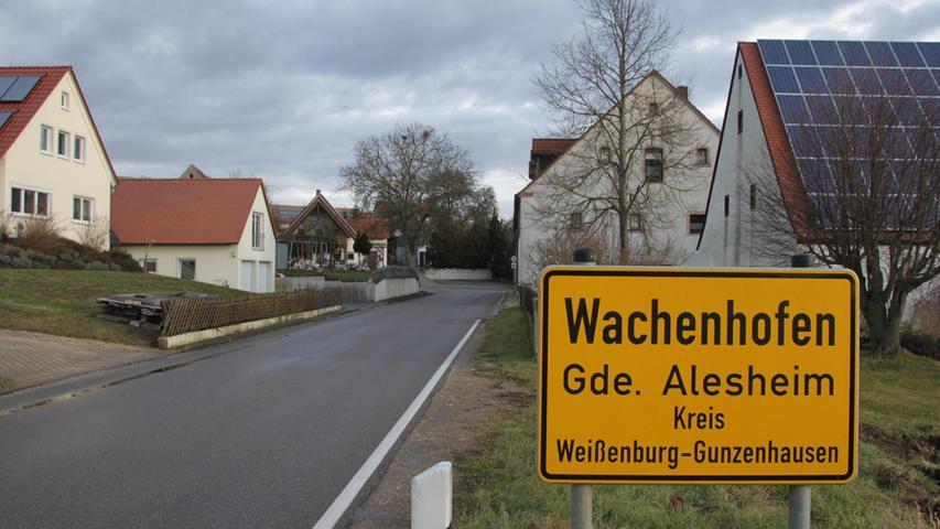Die Kanalfrage von Alesheim