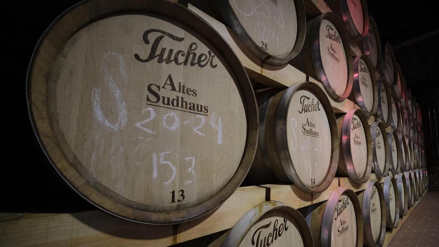 Tucher gehört zu den größten Brauereien in der Region.