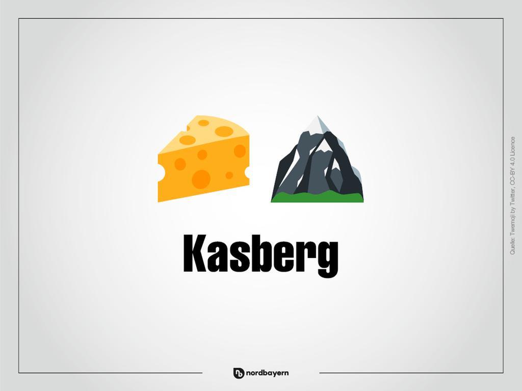Motiv: Emoji-Rätsel Ortsteile im Landkreis Forchheim; Kasberg; Bilderrätsel; Emoji; Smiley Foto: nordbayern.de