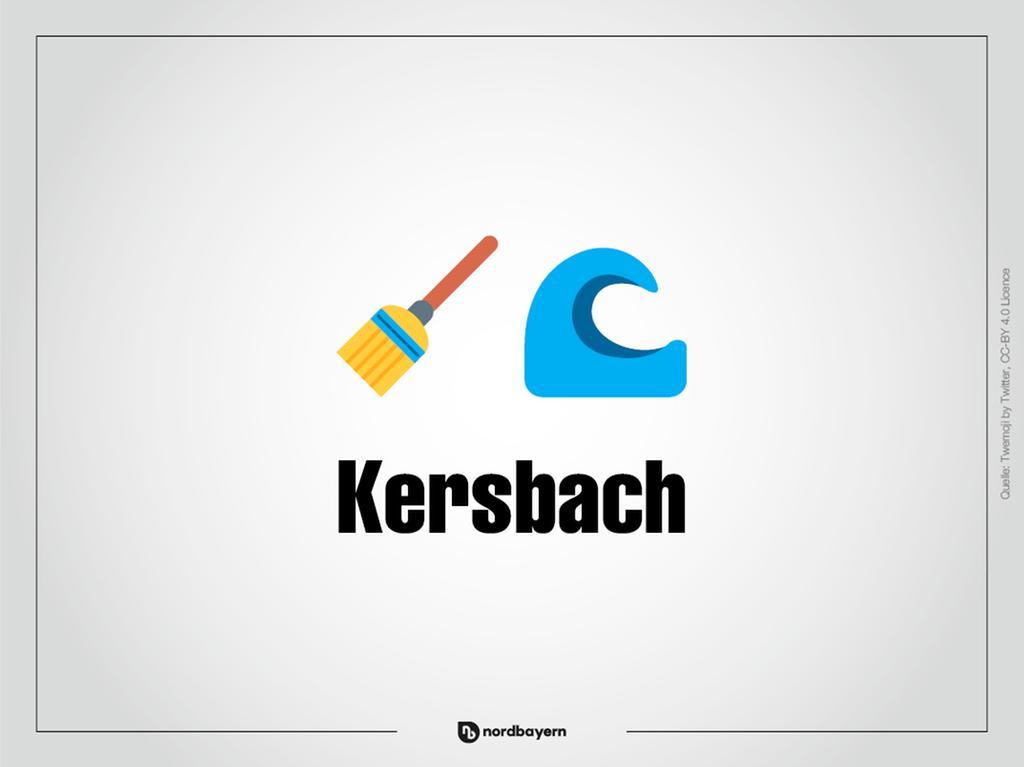 Motiv: Emoji-Rätsel Ortsteile im Landkreis Forchheim; Kersbach; Bilderrätsel; Emoji; Smiley Foto: nordbayern.de