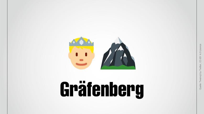 Ein Graf und ein Berg: Das ist Gräfenberg.