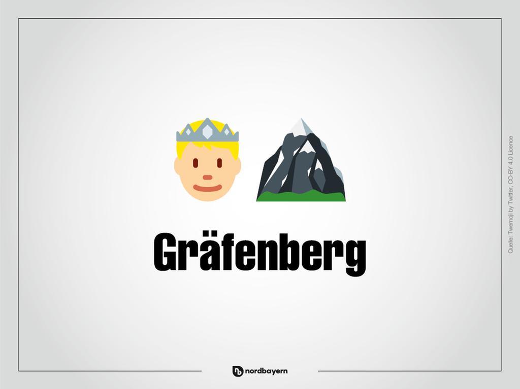 Motiv: Emoji-Rätsel Ortsteile im Landkreis Forchheim; Gräfenberg; Bilderrätsel; Emoji; Smiley Foto: nordbayern.de