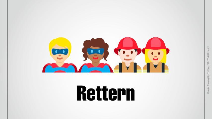 Superhelden und Feuerwehrfrauen und -männer: Das ist Rettern!