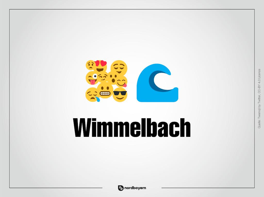 Motiv: Emoji-Rätsel Ortsteile im Landkreis Forchheim; Wimmelbach; Bilderrätsel; Emoji; Smiley Foto: nordbayern.de