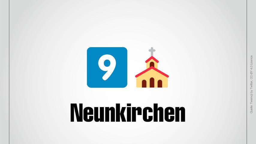 Natürlich Neunkirchen.