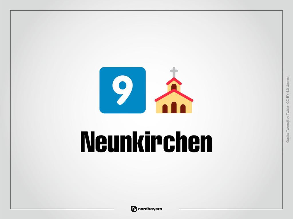 Motiv: Emoji-Rätsel Ortsteile im Landkreis Forchheim; Neunkirchen; Bilderrätsel; Emoji; Smiley Foto: nordbayern.de
