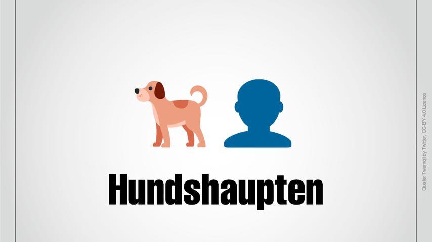 Ein Hund und ein Kopf: Das ist Hundshaupten.