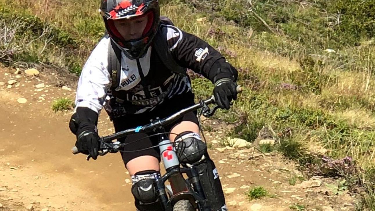 "Kilian Straßner beim ""Downhill"" im Ski-Dorado Sölden."