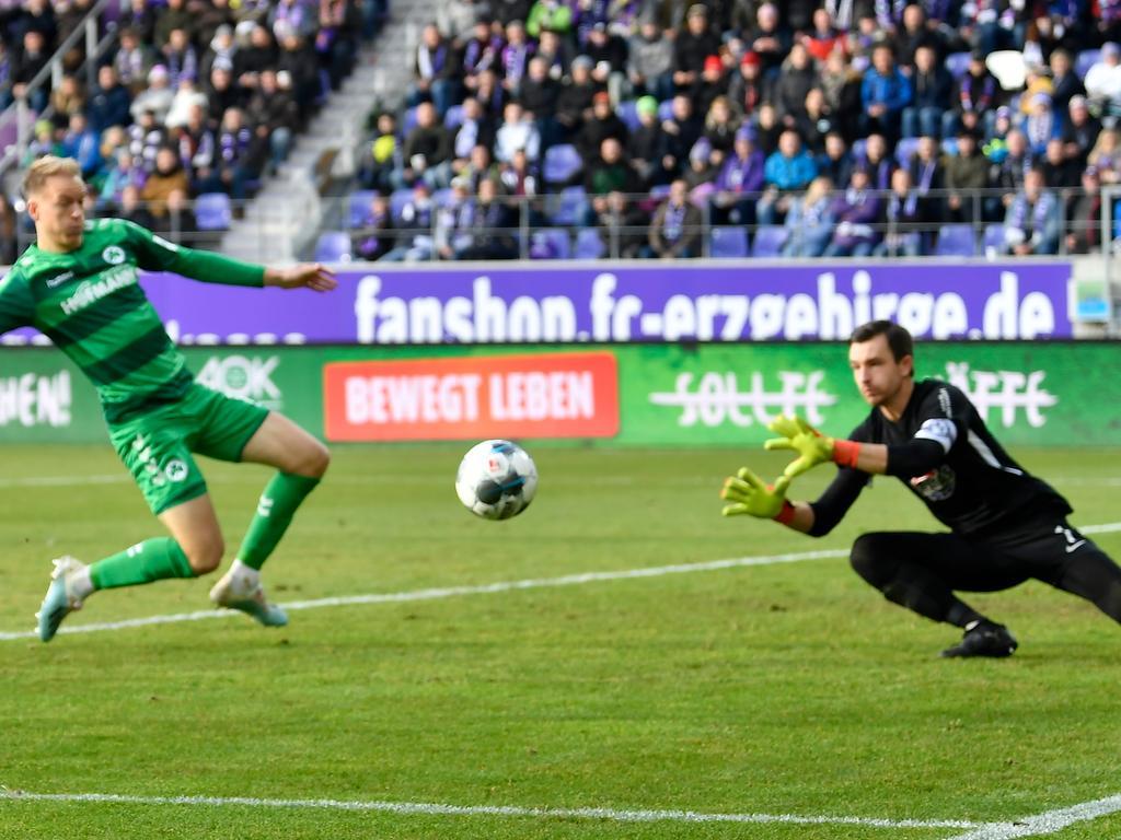 Zwei Treffer, drei Vorlagen: Nielsen zählt längst zu den wichtigen Offensivkräften des Kleeblatts.