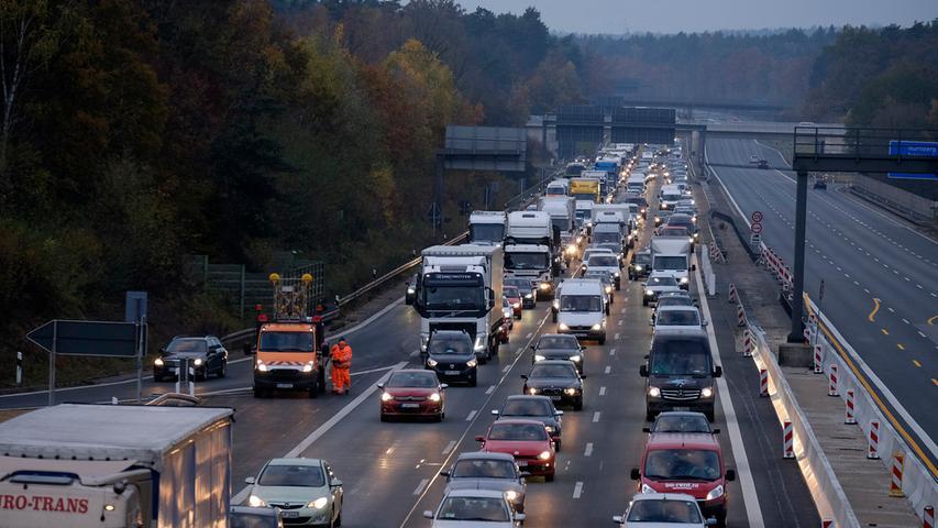 Staugefahr: Hier werden die Autobahnen 2020 zur Großbaustelle