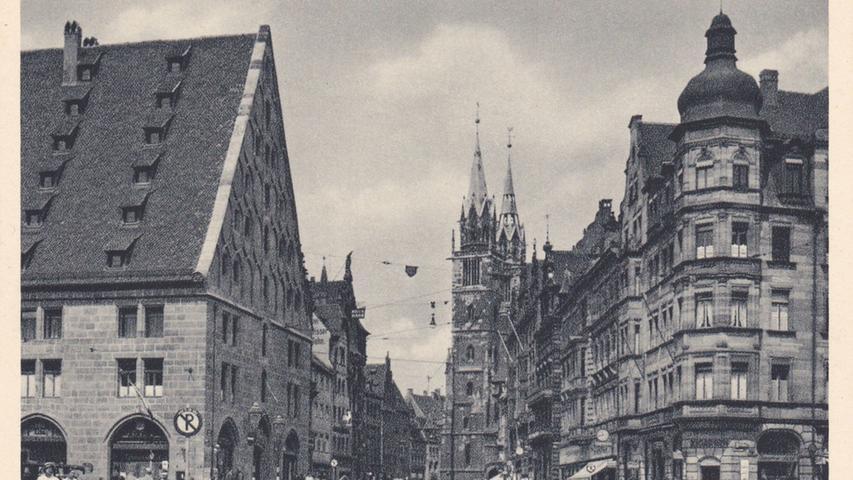 Bilder der Zerstörung: Nürnberg vor und nach den Bombenangriffen von 1945