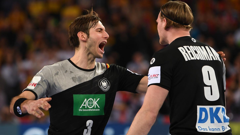 Die erfahrenen Nationalspieler Uwe Gensheimer und Tobias Reichmann führen das DHB-Team bei der EM an.