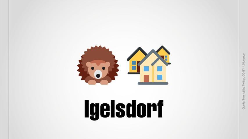 Igelsdorf ist ein Ortsteil von Rednitzhembach.