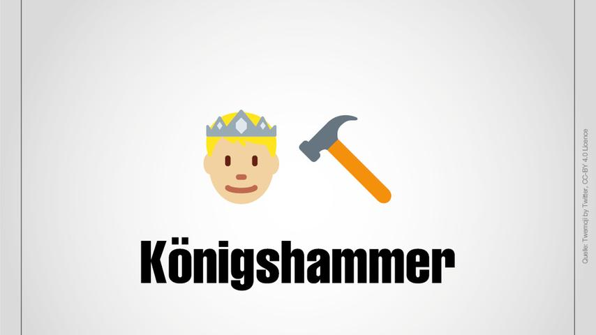 Königshammer ist ein Weiler, der zu Wendelstein gehört.