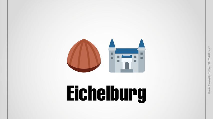 Eichelburg ist ein Ortsteil von Roth.