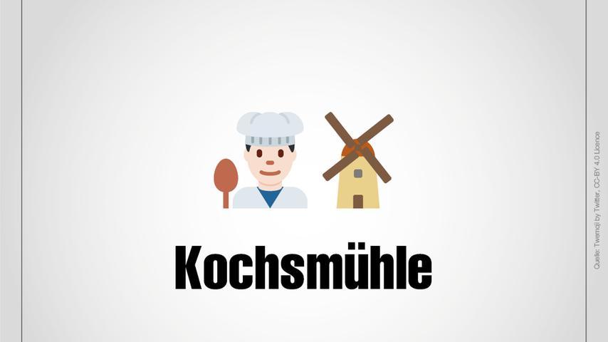 Kochsmühle ist ein Weiler, der zu Thalmässing gehört.