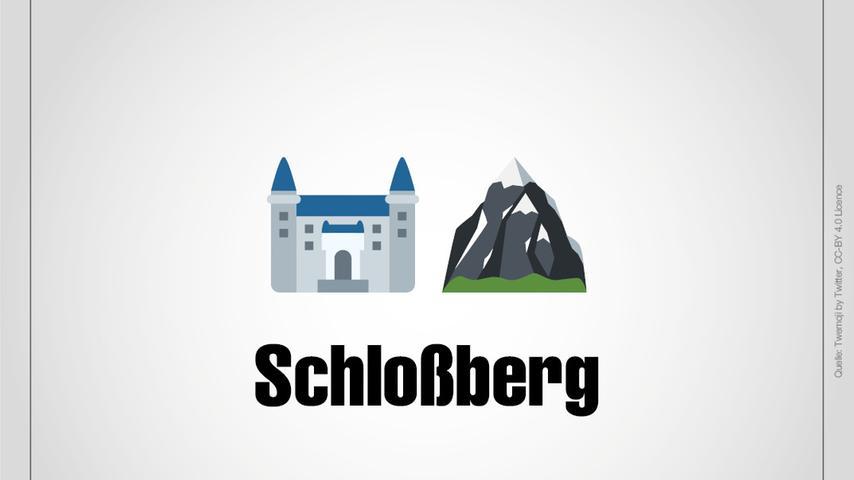 Schloßberg ist ein Ortsteil von Heideck.