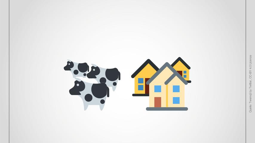 Kennen Sie sich aus? Die Orte im Landkreis Roth als Emoji-Bilderrätsel