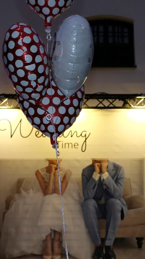 NM..Foto: Günter Distler..Motiv: Hochzeitsmesse Wedding Time, Festsäle der Residenz; 11.01.20....................................................................................................................................................................................