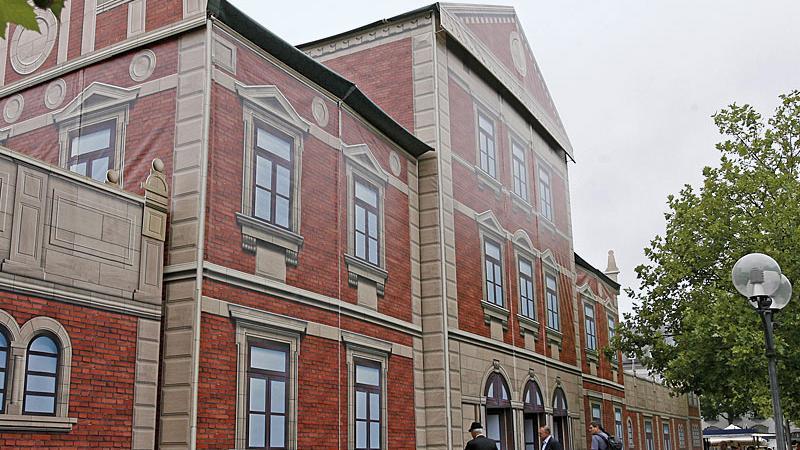 Der Ludwigsbahnhof-Nachbau auf der Fürther Freiheit
