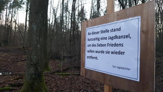 Jagdstand am Tiergarten: Pächter wirft die Flinte ins Korn