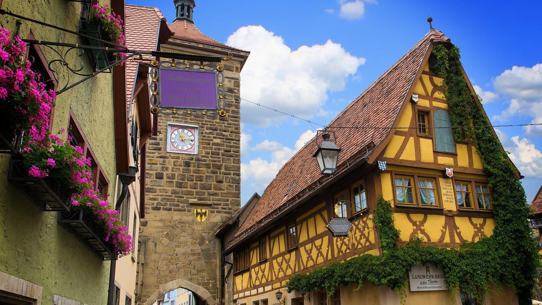 Schaffte es auf das Siegertreppchen: Rothenburg ob der Tauber in Mittelfranken.