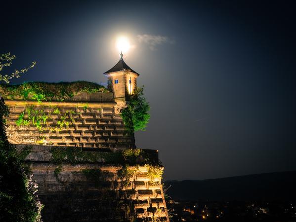 Vor allem für seine gut erhaltene Burganlage bekannt: Kronach in Oberfranken.