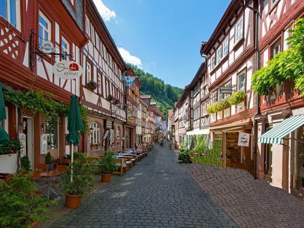 Die vielen Fachwerkhäuser wurden 2019 im unterfränkischen Miltenberg besonders gerne fotografiert.