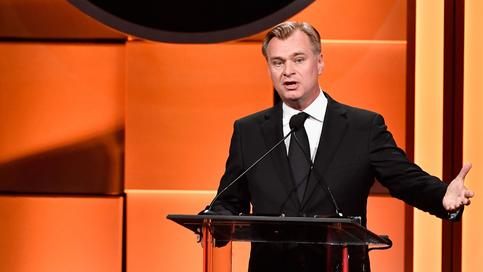 Christopher Nolan speaks onstage during the 31st Annual American Cinematheque Awards Gala at The Beverly Hilton Hotel on November 10, 2017 in Beverly Hills, California.