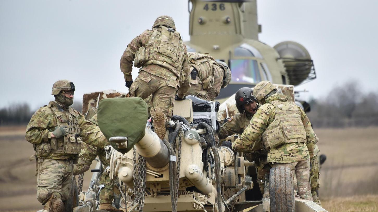 Auch der Truppenübungsplatz Grafenwöhr, auf dem dieses Bild bei der Übung
