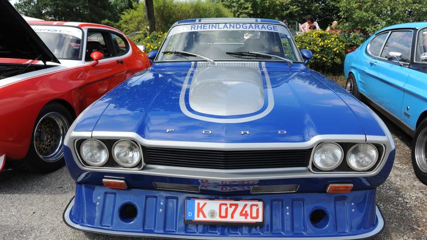 2. Ford-Capri-Treffen in Postbauer-Heng