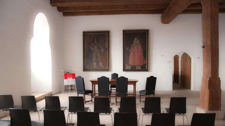 Der Trausaal in der Kaiserburg ist ohnehin schon ein beliebter Ort für Heiratswillige. In diesem Jahr dürfte das Interesse noch einmal steigen.