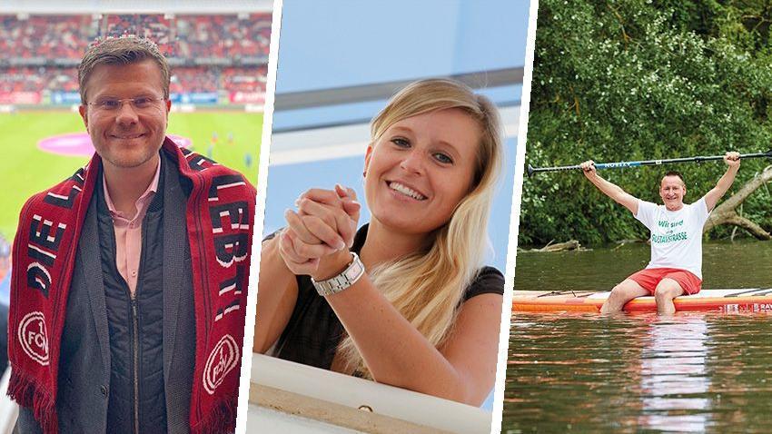 Marcus König, Katrin Albsteiger und Thomas Jung (von links) haben unter Bayerns Kommunalpolitikern mitunter die meisten Follower in sozialen Netzwerken.