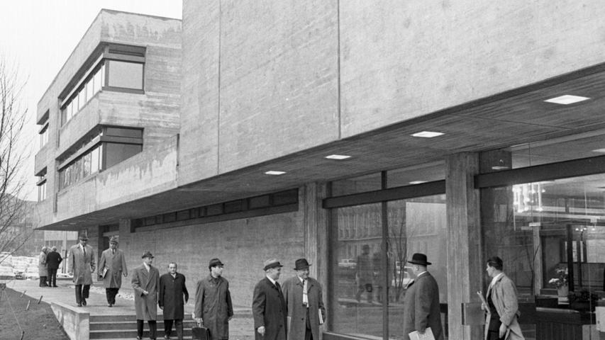 Für die einen war die 1969 eröffnete Norishalle ein Sinnbild für die moderne Zeit, für andere nur ein abstoßender Betonbunker.