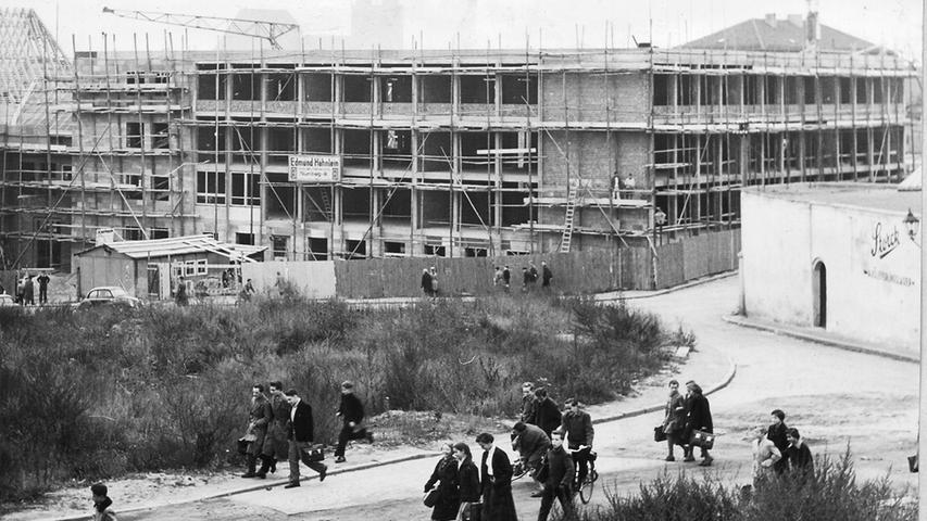 Nürnbergs Wiederaufbau nach dem Zweiten Weltkrieg