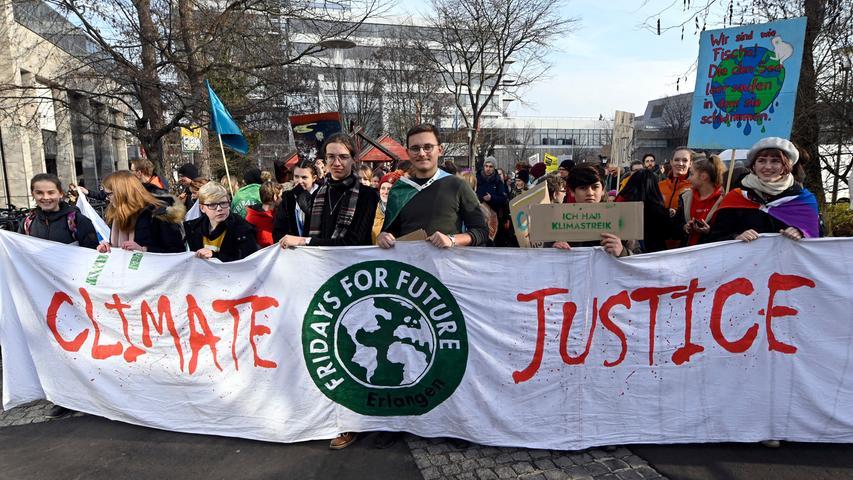 Ein Jahr Fridays for Future in Erlangen