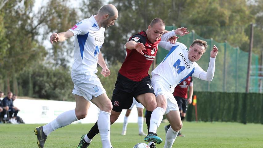 Verdient verloren: Der Club muss sich dem NK Osijek geschlagen geben