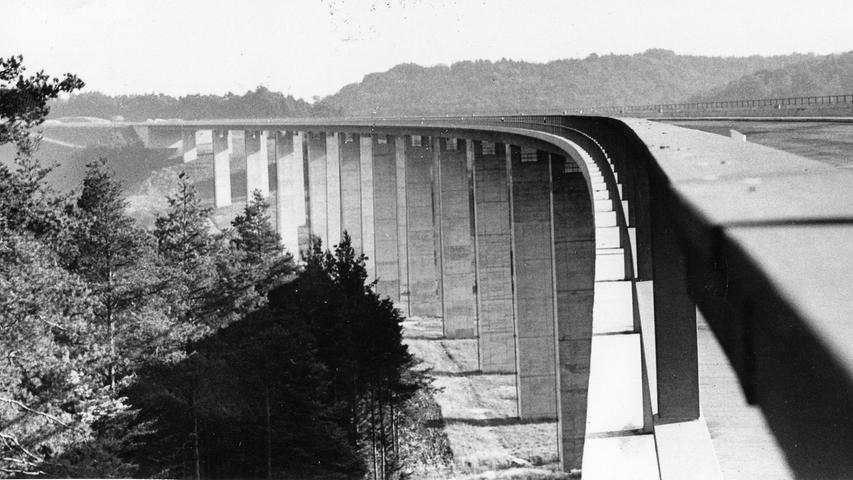 Mega-Bauwerk an der A6: die Geschichte der Talbrücke Unterrieden